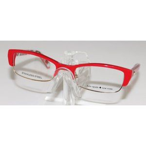 New Kate Spade Red Dots Eyeglasses